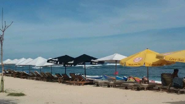 pantai pandawa bali beach
